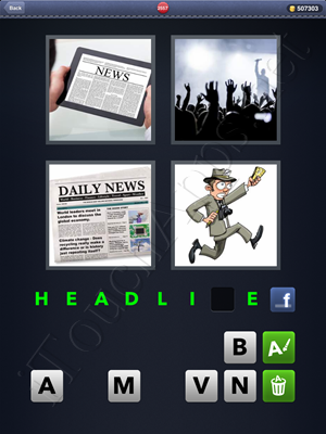 4 Pics 1 Word Level 2557 Solution