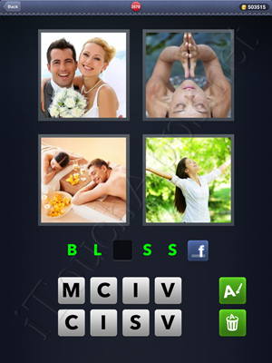 4 Pics 1 Word Level 2570 Solution