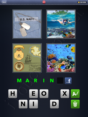 4 Pics 1 Word Level 2576 Solution