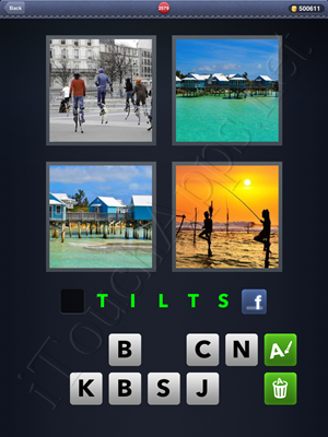 4 Pics 1 Word Level 2579 Solution