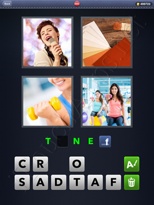 4 Pics 1 Word Level 2582 Solution