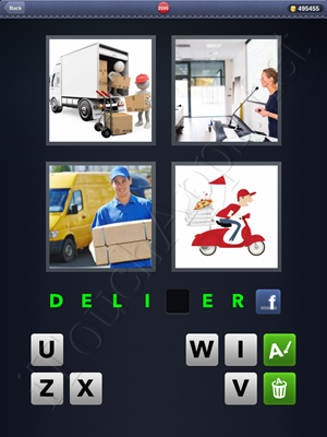 4 Pics 1 Word Level 2595 Solution