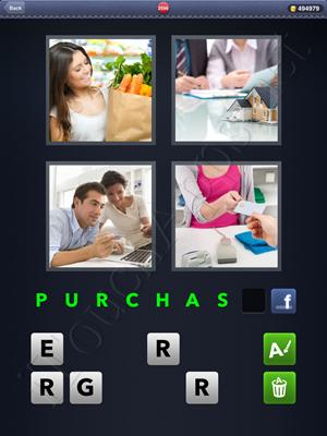 4 Pics 1 Word Level 2596 Solution