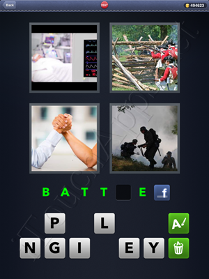 4 Pics 1 Word Level 2597 Solution