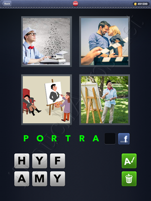 4 Pics 1 Word Level 2606 Solution