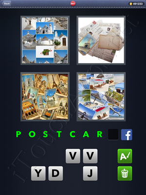 4 Pics 1 Word Level 2607 Solution