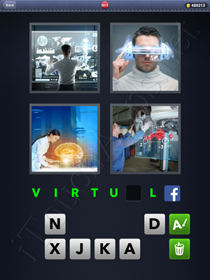 4 Pics 1 Word Level 2612 Solution
