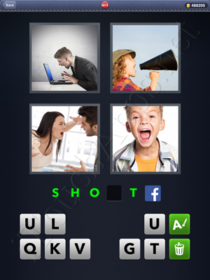 4 Pics 1 Word Level 2615 Solution