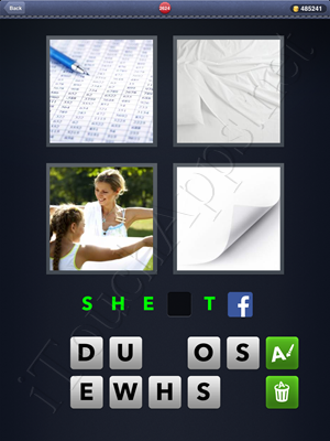 4 Pics 1 Word Level 2624 Solution
