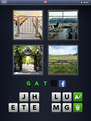 4 Pics 1 Word Level 2640 Solution