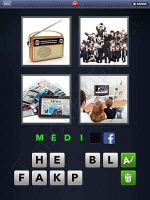 4 Pics 1 Word Level 2641 Solution