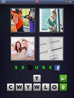 4 Pics 1 Word Level 2642 Solution