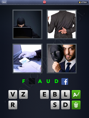 4 Pics 1 Word Level 2649 Solution