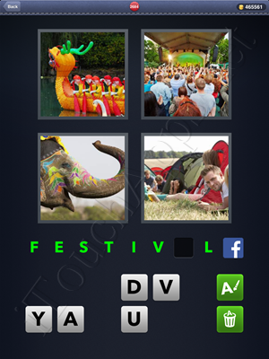 4 Pics 1 Word Level 2684 Solution