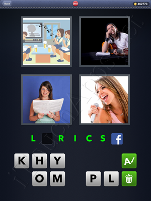 4 Pics 1 Word Level 2692 Solution