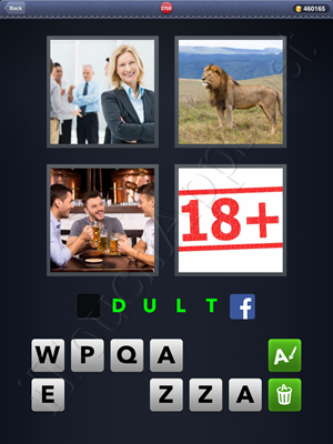 4 Pics 1 Word Level 2700 Solution