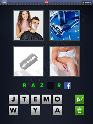 4 Pics 1 Word Level 2705 Solution