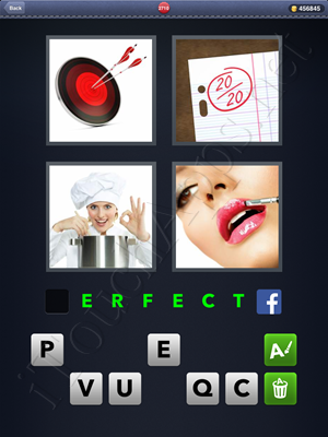 4 Pics 1 Word Level 2710 Solution
