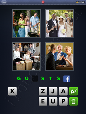 4 Pics 1 Word Level 2714 Solution
