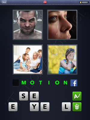 4 Pics 1 Word Level 2724 Solution