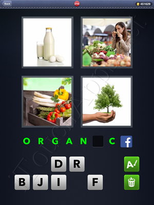 4 Pics 1 Word Level 2726 Solution