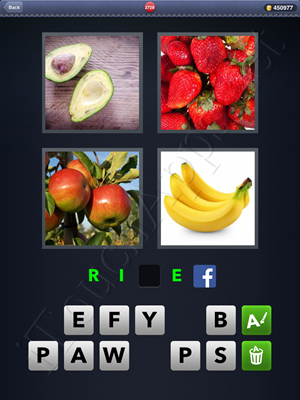 4 Pics 1 Word Level 2728 Solution