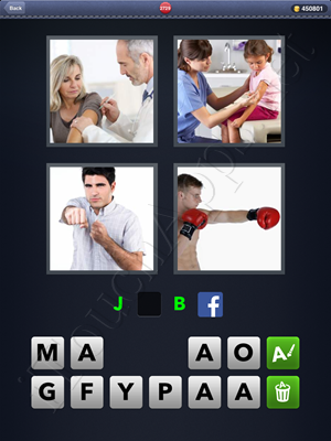 4 Pics 1 Word Level 2729 Solution