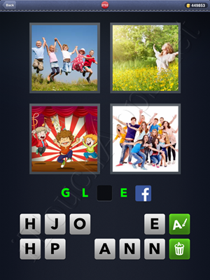 4 Pics 1 Word Level 2732 Solution