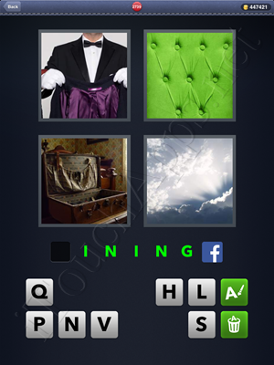 4 Pics 1 Word Level 2739 Solution