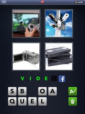4 Pics 1 Word Level 2741 Solution