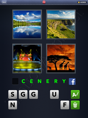4 Pics 1 Word Level 2750 Solution