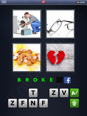 4 Pics 1 Word Level 2765 Solution