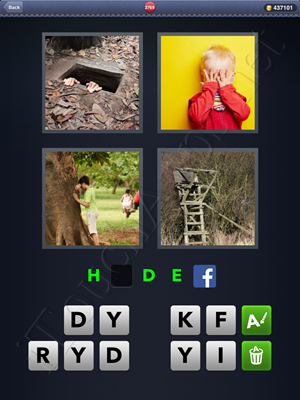 4 Pics 1 Word Level 2769 Solution