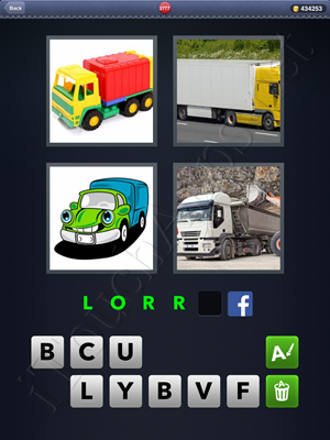 4 Pics 1 Word Level 2777 Solution