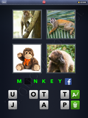 4 Pics 1 Word Level 2786 Solution