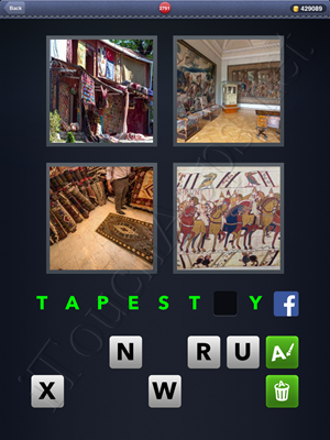 4 Pics 1 Word Level 2791 Solution