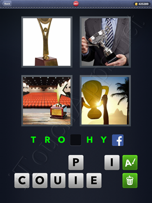 4 Pics 1 Word Level 2801 Solution