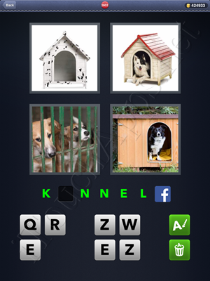 4 Pics 1 Word Level 2802 Solution