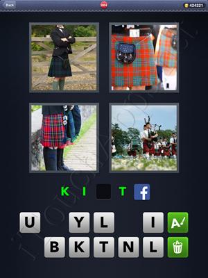 4 Pics 1 Word Level 2804 Solution