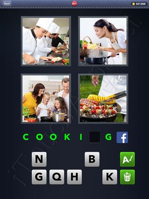 4 Pics 1 Word Level 2811 Solution