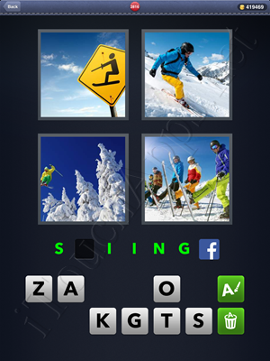 4 Pics 1 Word Level 2816 Solution