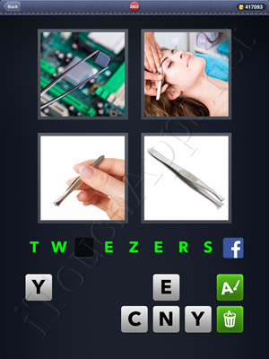 4 Pics 1 Word Level 2822 Solution