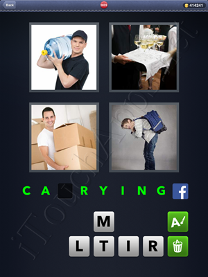 4 Pics 1 Word Level 2829 Solution