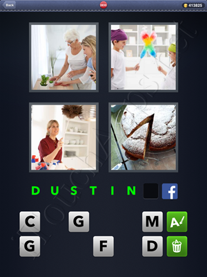 4 Pics 1 Word Level 2830 Solution