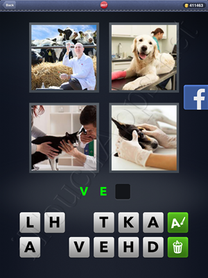 4 Pics 1 Word Level 2837 Solution
