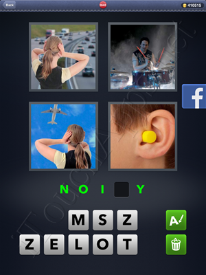 4 Pics 1 Word Level 2840 Solution