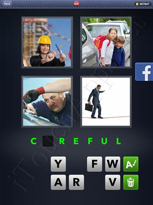 4 Pics 1 Word Level 2848 Solution