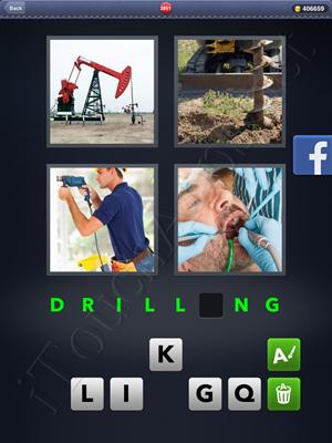 4 Pics 1 Word Level 2851 Solution
