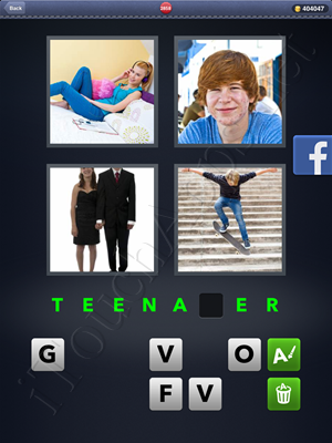 4 Pics 1 Word Level 2858 Solution