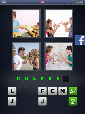 4 Pics 1 Word Level 2859 Solution